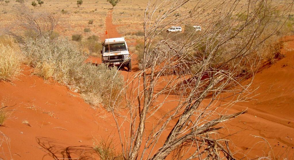 Canning Stock Route 4WD Tag Along Tours - Ein unvergesslich schönes Sanddünen Erlebnis
