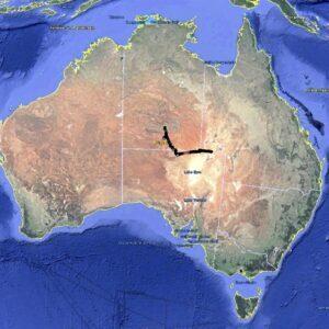 Alice Springs nach Birdsville 4WD Tag Along Tour