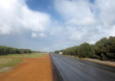 Auf dem Weg nach Norden - Great Northern Highway.