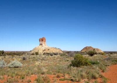 Chambers Pillar ist ein Muss - Northern Territory