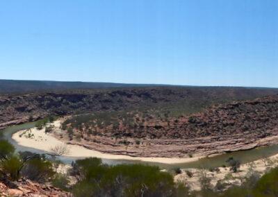 Die Schleife - Murchenson River - Kalbarri National Park