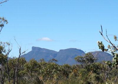Bluff Knoll - Stirling Range in der Region Albany - 1.099 Meter über dem Meeresspiegel