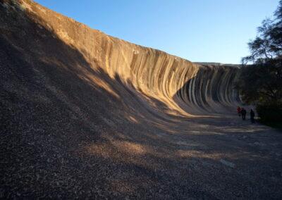 Wave Rock - ein Granit Inselberg - Hyden