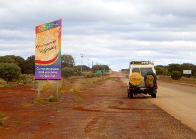 Zurück zur Zivilisation nach 9 Tagen auf dem Gunbarrel Highway